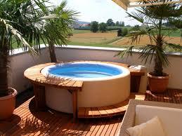 Garden Design Ideas Hot Tubs Small Tub Outdoor Design ...