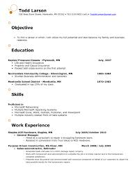 Retail Store Resume Resumes Manager Examples Pdf Sample