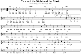 You And The Night And The Music Chart You And The Night And The Music