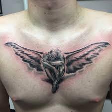 мужские и женские татуировки на груди идеи значение фото тату
