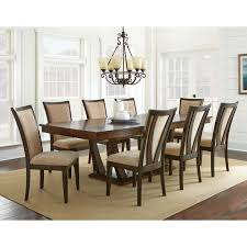 steve silver gabrielle 9 piece dining table set um 8 person pub for decor