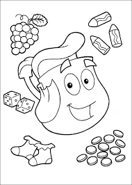 Small Picture Dora The Explorer Coloring Pages Dora The Explorer Kids 5435