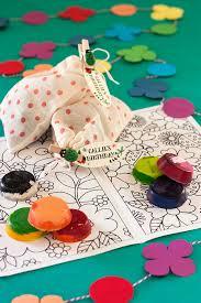 diy crayons free printable coloring book craft kids printable favor