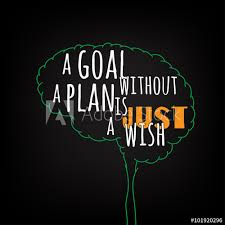 A Goal Without A Plan Is Just A Wish Motivation Clever Ideas In The