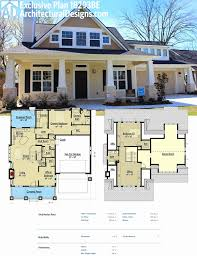 two story house plans with bonus room over garage unique plan be storybook bungalow with bonus