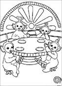 Small Picture Teletubbies coloring pages Free Coloring Pages