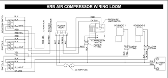 air locker wiring delema here is a schematic of the wiring for the arb setup it shows 5 wires at the switch and 4 off of the pump bottomsup is offline