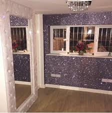 glitter paint for walls glam room