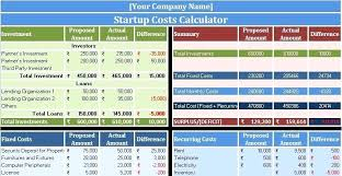 Startup Expenses Spreadsheet Business Startup Checklist Template