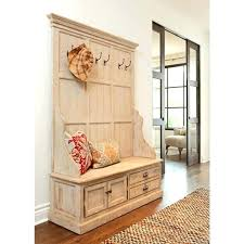 Entry Foyer Coat Rack Bench Metal Entryway Storage Bench Coat Rack Shoe And Coat Storage Chic 50