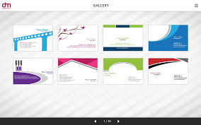 photo card maker templates business card maker app for ipad apple templates choice image