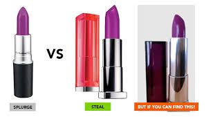 splurge vs save makeup dupes for high end brands lady lolinda