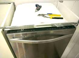 nite dishwasher bracket mounting to mount attaching attach how do you a granite countertop