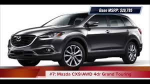 Top 10 2013 Lowest Price SUVs With 3rd Row Seats - YouTube