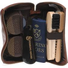 herring shoes herring shoe care rhinefield shoe care kit in chestnut calf at herring shoes