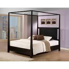 Bed & Bedding: Excellent King Canopy Bed For Elegant Master Bedroom ...