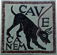 Cave Canem Roman Mosaic - The Best Cave