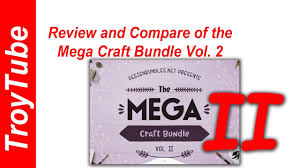Open your file and you´ll notice that there are some extra lines. Review Mega Craft Bundle Volume 2 From Designbundles Net Youtube