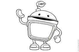 Small Picture Amazing Bot from Team Umizoomi Coloring Page Color Luna