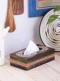Image Etsy Vareeshacom Madhubani Work Mango Wood Tissue Holder