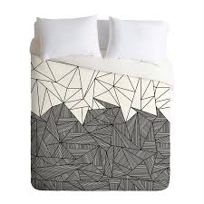 deny designs brandy rays multicolored queen duvet cover