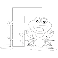 Letter Coloring Pages For Toddlers Letter F Coloring Page Letter I