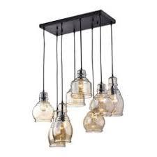 cluster pendant lighting. Crystal Chandeliers - Mariana 8-Light Cognac Glass Cluster Pendant In  Antique Black Finish Cluster Pendant Lighting T