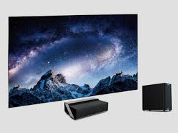 Hisense\u0027s $9,999-UPP Laser TV consists of a short-throw 4K laser projector with Hisense Takes A Shine To CEDIA With 100-Inch - Twice
