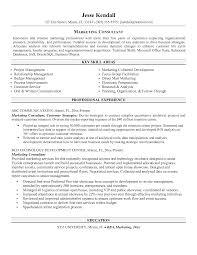 Advertising Resume Example Sample Marketing Resumes Objec Peppapp