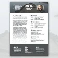 Resume Modern Temp Free Creative Resume Templates Word Awesome Consultant Modern