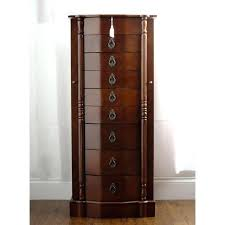 contemporary jewelry armoire image of jewelry dresser powell contemporary merlot jewelry armoire