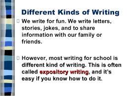 five paragraph essay different kinds