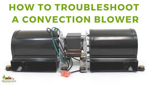 troubleshooting a convection blower jpg