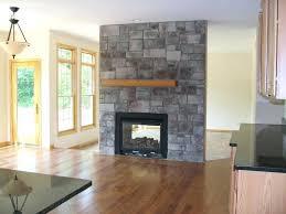wood burning fireplace insert sided double