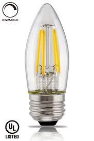 led filament candelabra bulb ul listed vintage style e26 lamp bulb lightbox moreview