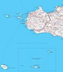 Mappa Sicilia Lampedusa Pantelleria Linosa Italymap
