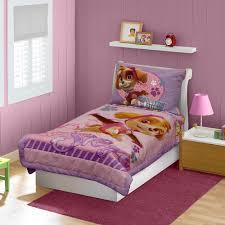 Pink Toddler Bedroom Nickelodeon Paw Patrol Skye 4 Piece Toddler Bedding Set Pink