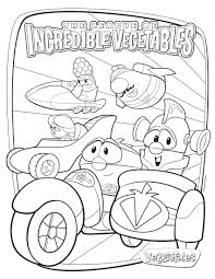 Small Picture Veggie tales coloring pages incredible vegetables ColoringStar