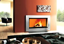 steel fireplace box contemporary fireplace surround steel stainless steel box lennox 36 stainless steel wood burning