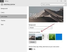 Computar Themes How To Change Theme Lock Screen Wallpaper In Windows 10