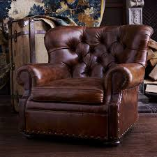 ralph lauren home writer s chair the iconic tufted winged leather club chair the perfect chair to curl up with a good book in