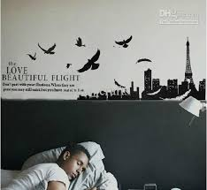 removable beautiful flight wall stickers decals wall art living room birds wall decor decal wall quotes decal wall sticker from china crafts 3 17 dhgate  on flight wall art with removable beautiful flight wall stickers decals wall art living room
