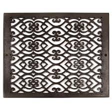 Decorative Grates Registers Oversized Victorian Bronze Air Return Registers Hardware