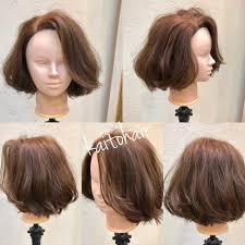 動画超簡単前髪なしボブの巻き方とスタイリングの仕方ランダム編