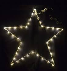 Dadeldo Licht Stern Mit Led Beleuchtung Metall Timer In Outdoor 30x30cm