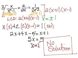 solve fraction equations math solving rational equations day 2 math algebra 2 rational equations solve rational equations algebra 2