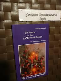 Ein Fenster Im Adventskalender Rudolf Hempel Buch Gebraucht