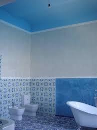 blue bathroom floor tile. A Bathroom Vision In Blue Floor Tile