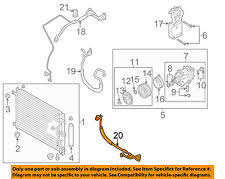 chevrolet aveo a c hoses fittings chevrolet gm oem 07 08 aveo a c ac hose 96435887 fits more than one vehicle