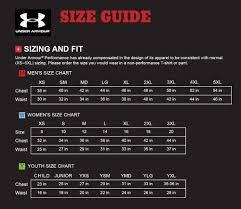 Under Armour Sweater Size Chart